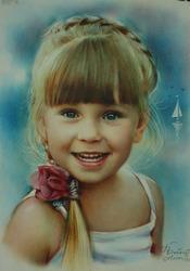 Оригинальный подарок портрет по фото на заказ