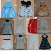 Нарядные детские платья на 1-2 года