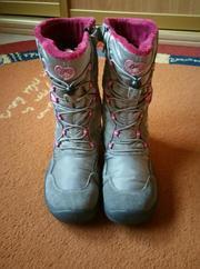 Зимние сапоги Primigi для девочки обувь на зиму 34 размер оригинал