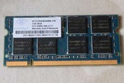 Продам память для ноутбука SO DIMM DDR 1Gb ( DDR- 400 ).