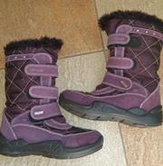 Сапоги для девочки Primigi зимние ботинки 33 размер обувь на зиму