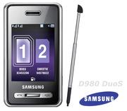 Новый Samsung D980 Duos