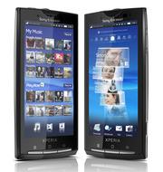 Сенсорный Sony Ericsson Xperia X10 Black