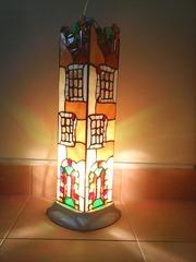 Витражный светильник ручной работы