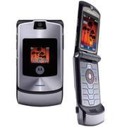 Motorola Razr V3 Silver Телефон б.в.