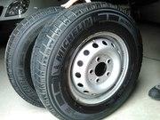 Продам шины и диски от микроавтобуса Sprinter LT. Новые!
