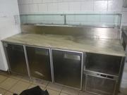 Продам бу холодильный стол для пиццы Jorado