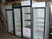 Продам бу холодильные шкафы (витрины) со склада