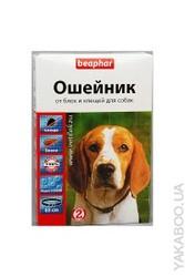 БИФАР ошейник для собак крупных пород от блох и клещей (черный) (85 см