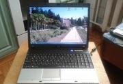 Практически новый  2-х ядерный ноутбук MSI VR610.