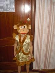 Карнавальные костюмы - обезьянка девочка и мальчик , прокат троещина