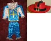 Прокат костюма Мушкетера 4-7 лет.