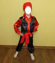 Карнавальный костюм Цыгана,  Пирата на 4-6 лет
