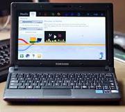 Удобный,  красивый ноутбук Samsung N100 + чехол