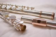 Флейта Gemeinhardt 2sh Золото 18 карат