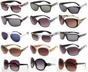 Очки оптом 2016 солнцезащитные,  модные женские,  мужские,  детские,  спор