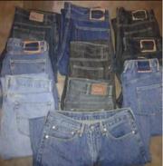 Мужские джинсы - Levis denim jeans original -  6 EUR / шт