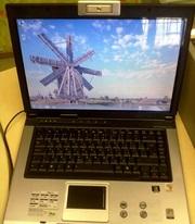 Двухъядерный ноутбук Asus X50N как новый.