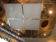 Потолочные плиты из металла для подвесного потолка