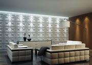 3D Панели для объемной отделки стен- рельефные 3-д стеновые панели из