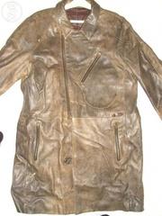 Крокодиловый оригинальный кожаный френч Olivieri