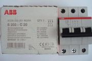 Автоматический выключатель Авв S203-C20 .Новый.