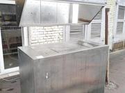 Продам бу холодильную витрину салат-бар / рыба на льду