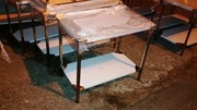 Столы для кухонь и общепита нержавеющие столы.