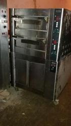 Бу подовая печь Zanussi BDE2 с расстоечным шкафом Zanussi LCE1230