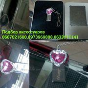 USB Flash Флэшка в виде Сердца 32Gb Prestige Diamond Hearts