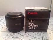 Продам б/ Canon EOS 500D Kit + Объектив Canon EF 50 mm f/1.8 II