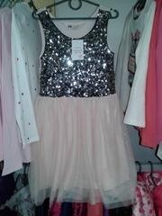 Нарядное бальное платье праздничное,  комиссионный магазин