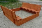 Детская песочница Ореховка 125см