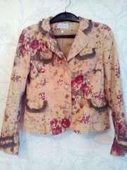 пиджак цветной