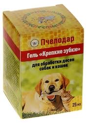 Гель «КРЕПКИЕ ЗУБКИ» для обработки десен собак и кошек. 34грн