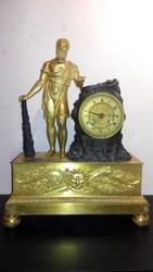 Каминные часы,  антиквариат. Музейный экспонат !!!«Геркулес», 1810-1820