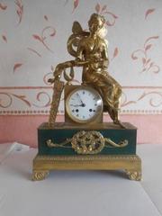 Каминные часы,  антиквариат,  настольные часы HEMON 1812-1820
