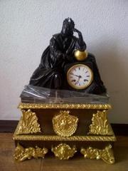 Каминные часы,  антиквариат,