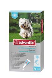 Адвантикс д/собак 4-10кг Байер. 121грн за пипетку.