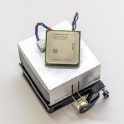 Процессор AMD Sempron 64 2800+  (SDA2800IAA2CN) + радиатор с кулером