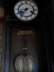 Антиквариат часы Gloria Gustav Becker