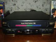 Видеоплеер LG с кассетами