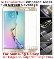 3D Защитное стекло iPhone 6G Samsung Galaxy S6 EDGE+ 3D Curved surfac