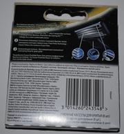 Сменные лезвия «Gillette mach 3,  mach 3 Turbo» с алмазным покрытием.