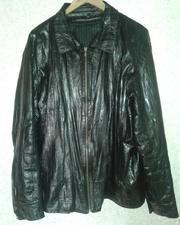 Мужская куртка GALLOTTI из кожи угря