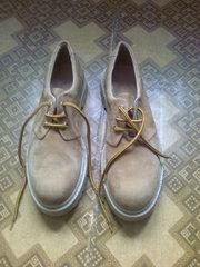 Туфли мужские замшевые желтые Португалия