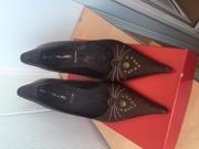 Туфли женские новые,  кожа,  (Италия)