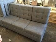 Продам серые тканевые диваны бу для кафе