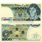 1000  злотых  1982  года.