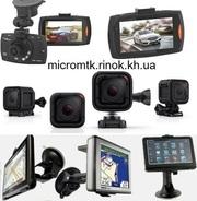 Видеорегистраторы мини камеры GPS трекеры диктофоны умные часы наушники и другое